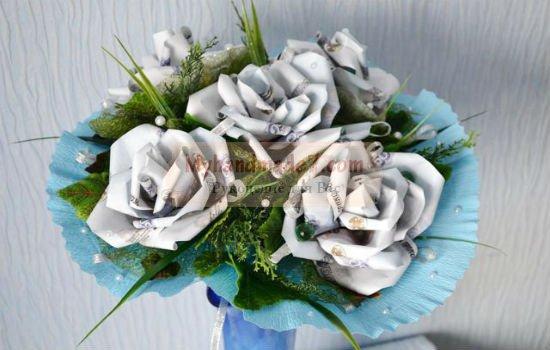 Мастер класс цветок из денег своими руками фото 564