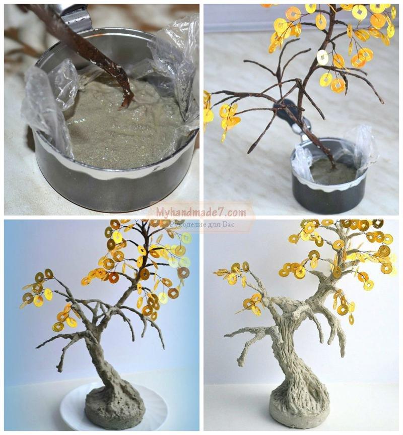 Как сделать дерево своими руками пошаговая 623