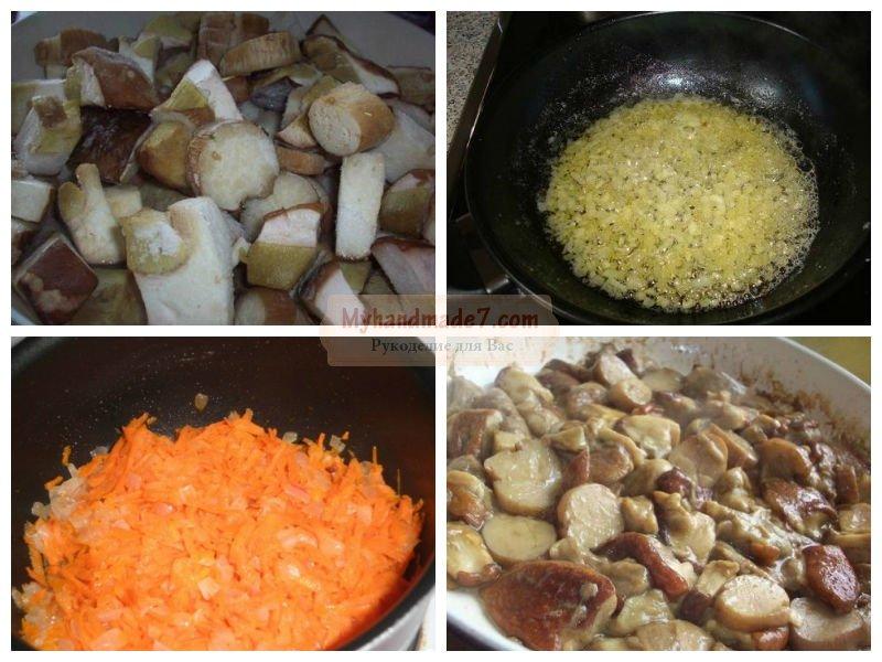 суп пюре с грибами как в икеа рецепт