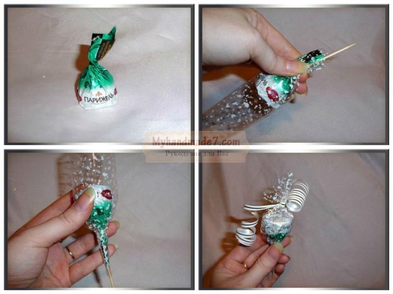 Подарки конфеты детям на новый год
