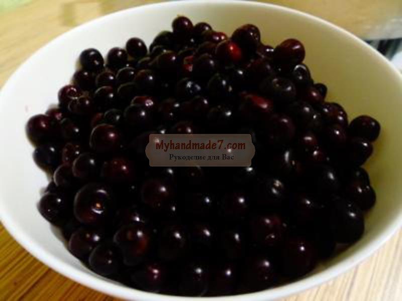 как приготовить вишневое варенье
