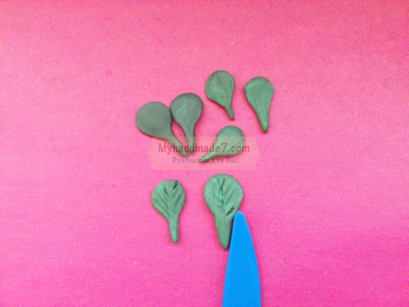 фиалка из пластилина: мастер-класс с пошаговыми фото