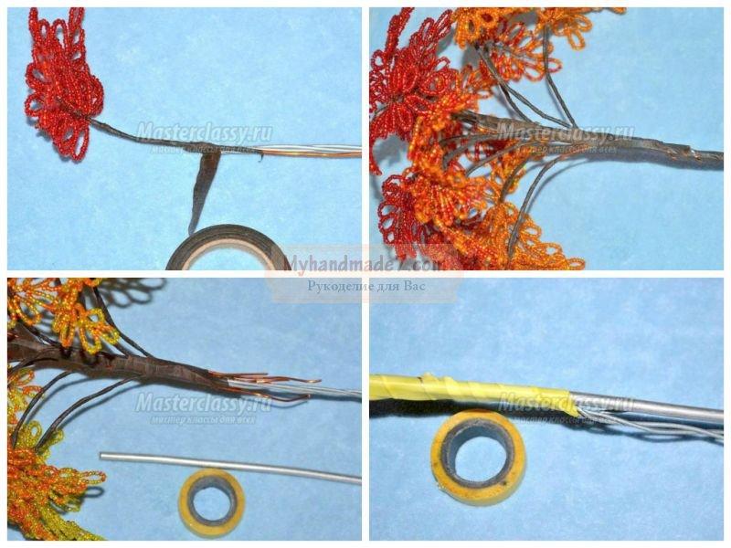 Осеннее дерево своими руками: пошаговый мастер-класс с фото