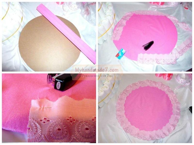 Как сделать торт своими руками для девочки 151