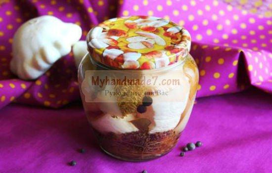рецепт с фото: маринованные патиссоны на зиму