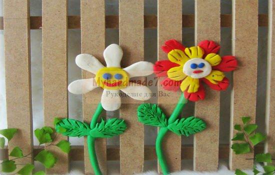 МК. Детские поделки из пластилина с пошаговыми фото