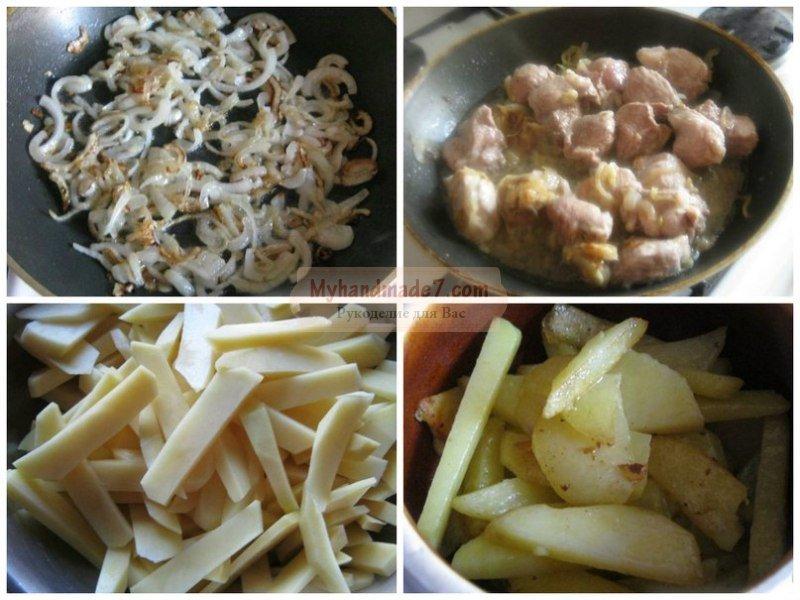 Картошка с грибами в горшочках: лучшие рецепты с фото