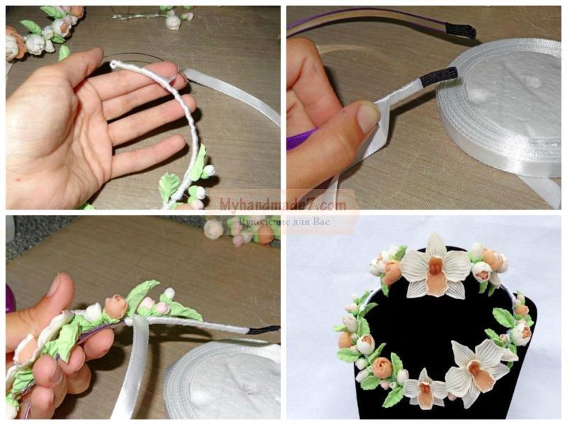 украшения для невесты своими руками