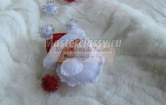Дед Мороз своими руками: лучшие мастер-классы с фото