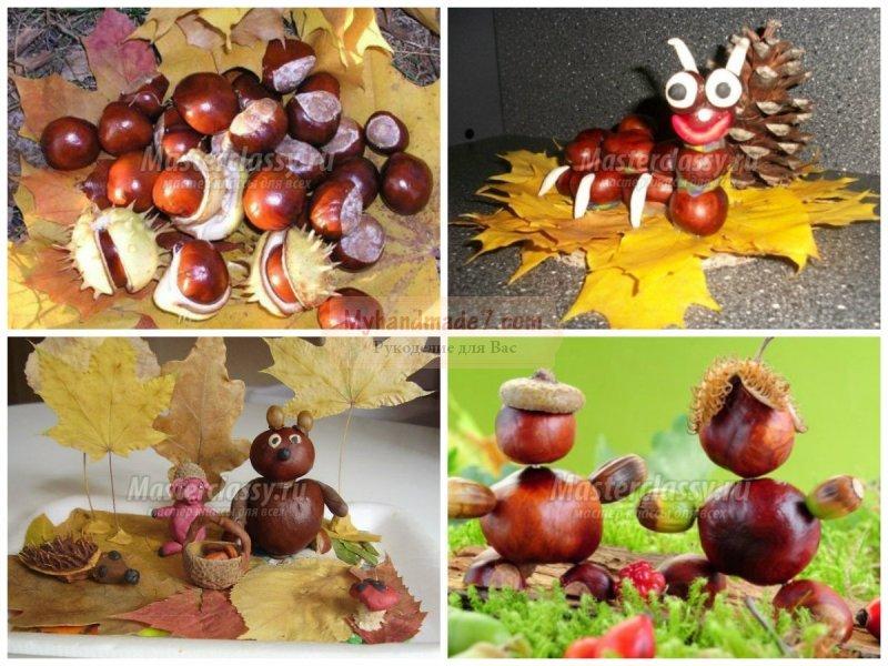 Осенняя композиция в школу фото