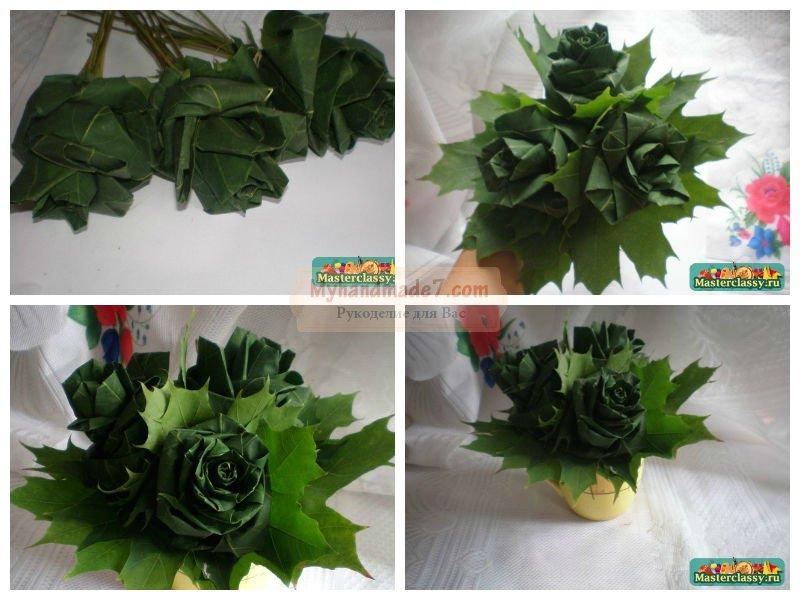 Поделки из кленовых листьев: лучшие идеи с фото