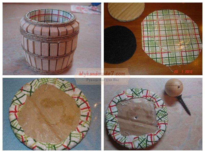 Изготовление поделок из дерева своими руками