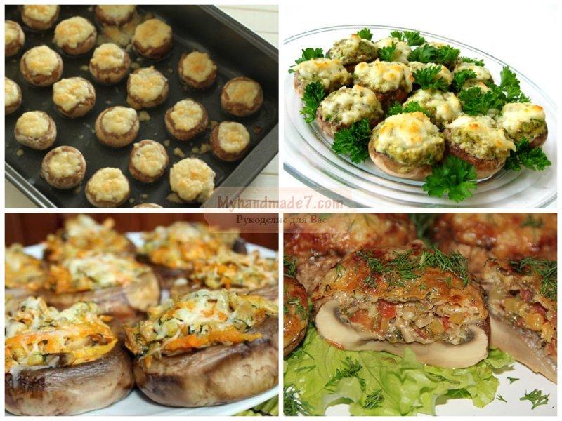 Грибы в духовке с сыром: лучшие рецепты с фото