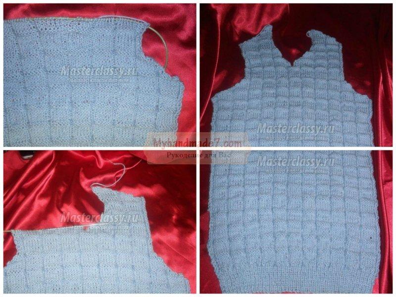 Вязание жилетки спицами: лучшие мастер-классы с фото