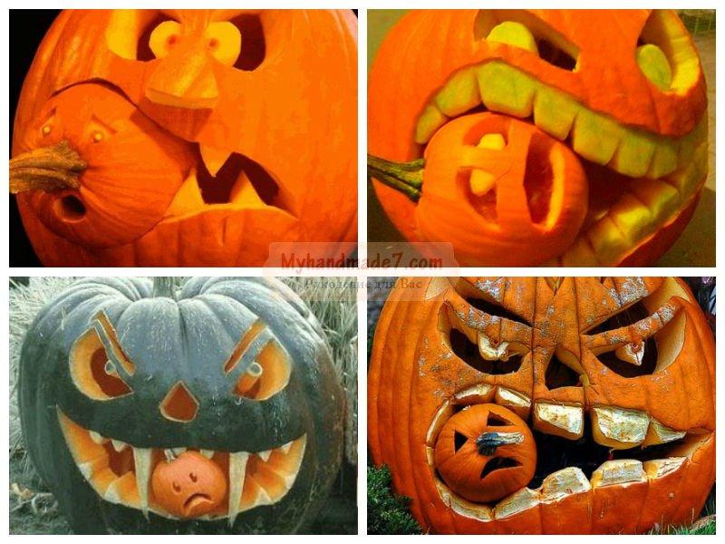 Как сделать своими руками тыкву на хэллоуин 40