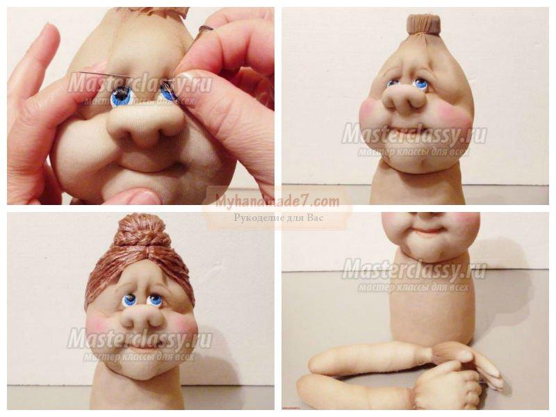 Куклы из колготок своими руками: пошаговые идеи с фото