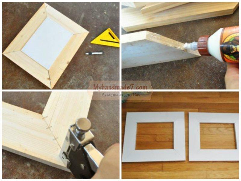 Рамка для картины своими руками: пошаговые мастер-классы с фото