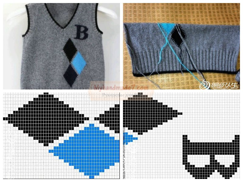 Вязание жилетки: схемы, и пошаговые мастер-классы