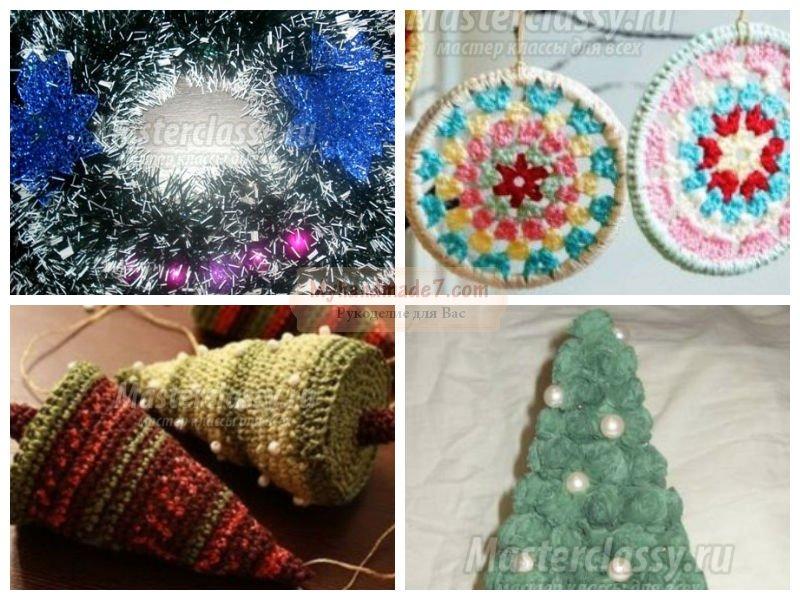 Новогодние украшения своими руками: фото, идеи и мастер-классы