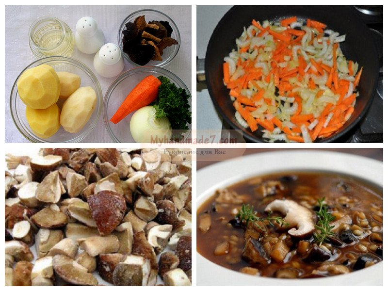 лучший рецепт грибной суп из свежих грибов