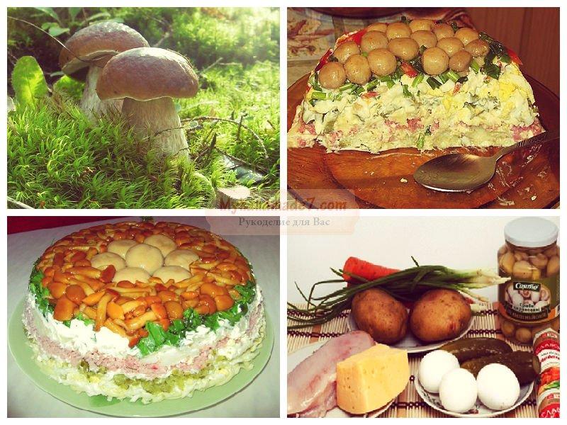 салат с огурцами и фунчозой рецепт с фото