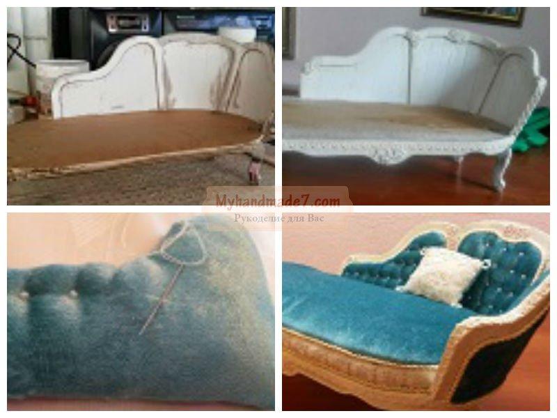 Как сделать мебель для кукол? лучшие идеи, мастер-классы с фото