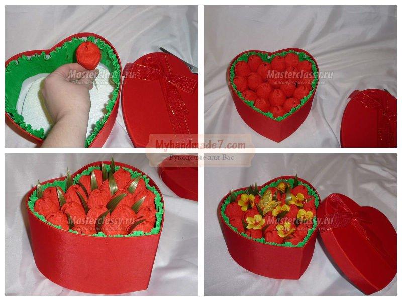 Подарки своими руками на 14 февраля день святого Валентина