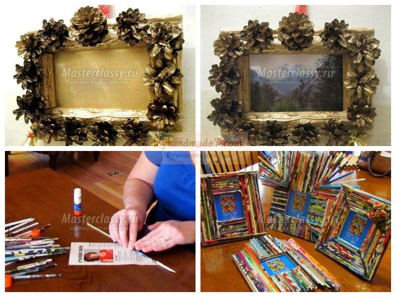 Как украсить фото своими руками: пошаговые мастер-классы с фото