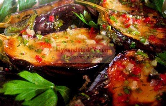 Салат из баклажанов на зиму: популярные рецепты с фото