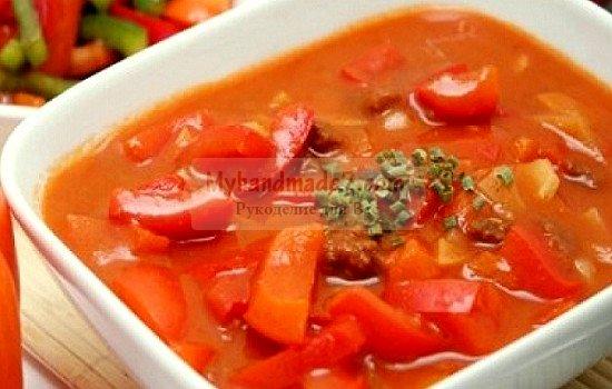 Салат из помидор на зиму: лучшие рецепты с фото