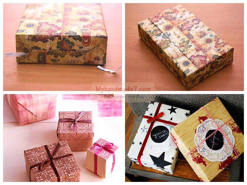Упаковка для новогодних подарков: лучшие мастер-классы с фото