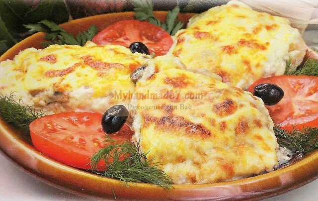 Курица с грибами и сыром: лучшие рецепты с фото