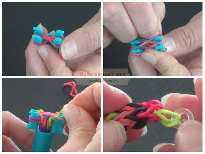 Как плести браслеты из резинок? лучшие идеи и мастер-классы с фото