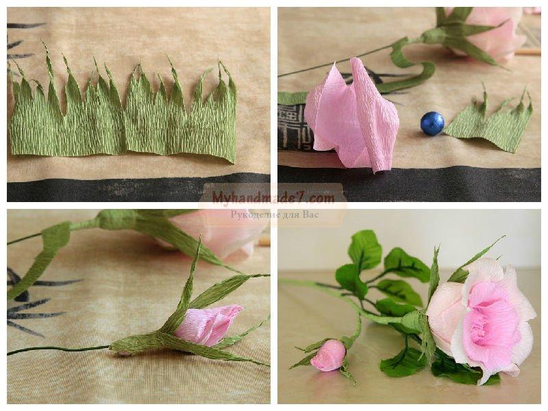Гофрированные цветы своими руками: лучшие мастер-классы с фото