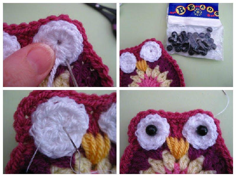 Вязание совы своими руками