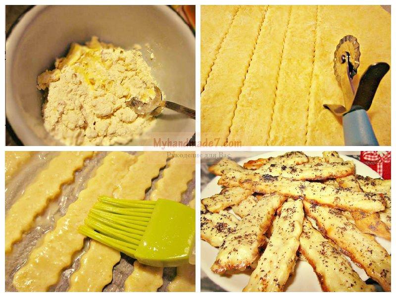 печенье на скорую руку рецепты с фото из простых продуктов в духовке видео
