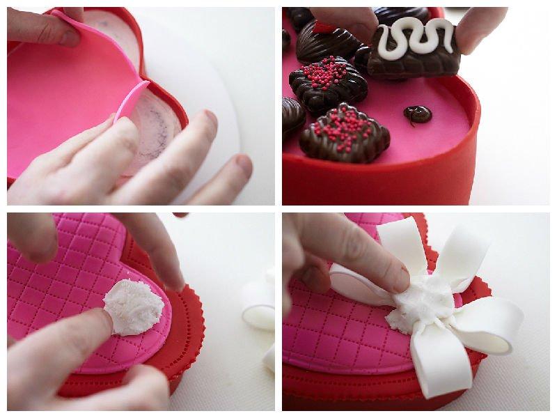 Делаем восхитительный торт на День Святого Валентина. Пошаговый рецепт с фото