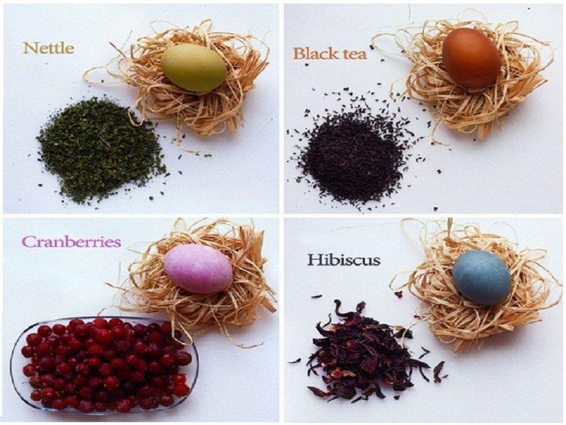 Натуральные красители для пасхальных яиц своими руками ...