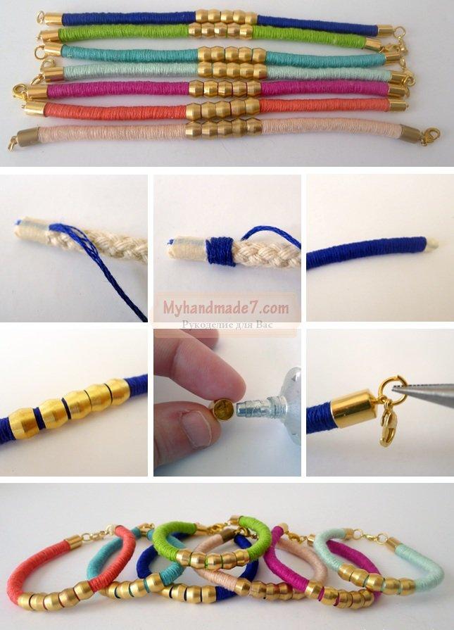 Как можно своими руками сделать браслет