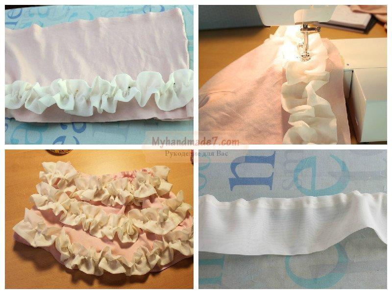 Как сшить балетную юбку для девочки быстро