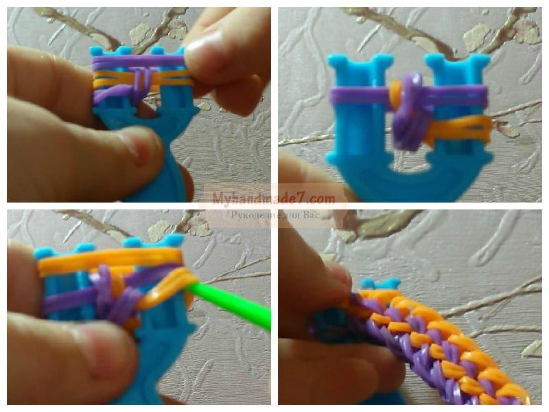 Набор для плетения из резинок