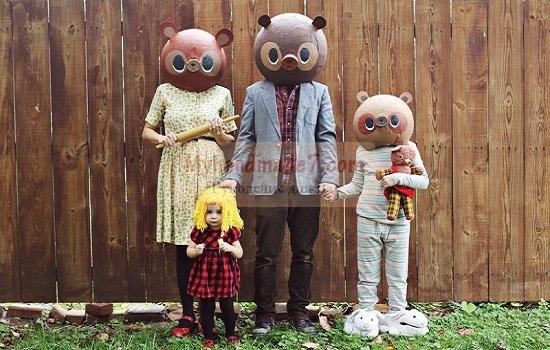 Костюмы для сказки Златовласка и 3 медведя своими руками