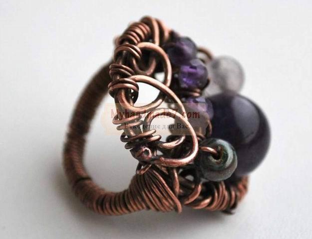 Техника wire wrap: изготовление украшений для начинающих