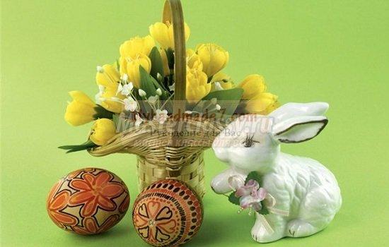 Декорируем яйца на Пасху своими руками