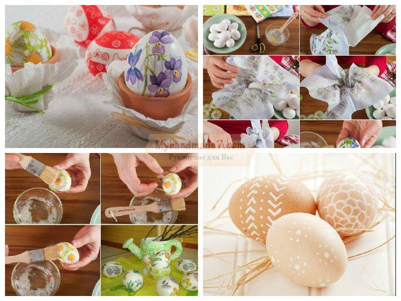12 идей как украсить яйца на Пасху