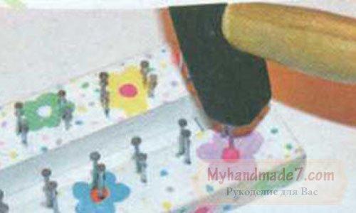 Поделки из резинок: станок для плетения сумок