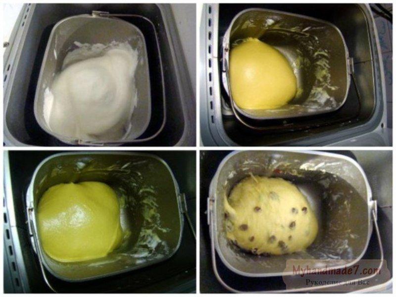 Пасхальный кулич с изюмом: лучшие рецепты с фото