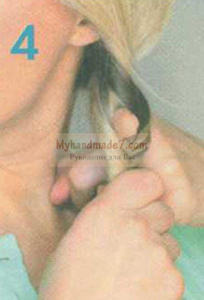 причёска лохматая коса