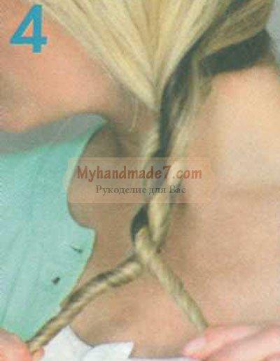 причёска коса-канат