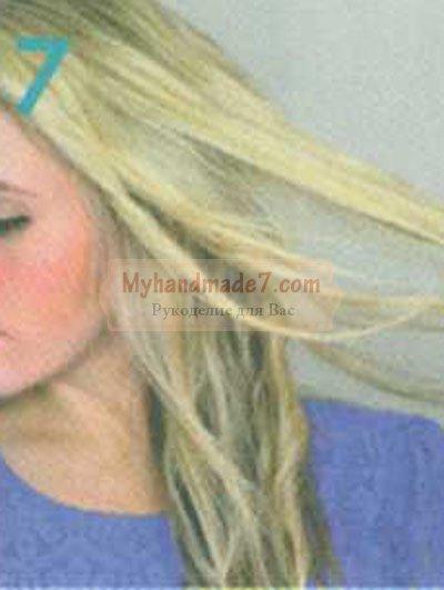 причёска лёгкие волны